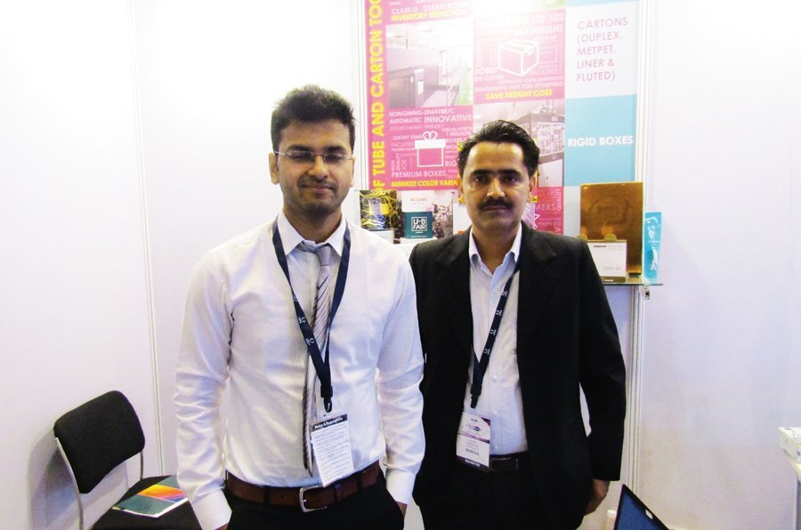 Vishesh Gupta, director, PR Packagings and Atul Gupta, assistant general manager, marketing, PR Packagings. Photo PSA