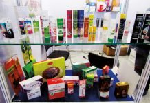 Samples of PR Packagings tubes and cartons. Photo PSA
