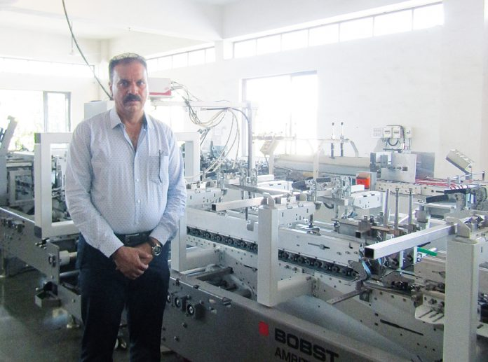 Rajesh Patel of Sanraj Box Manufacturer and Printers