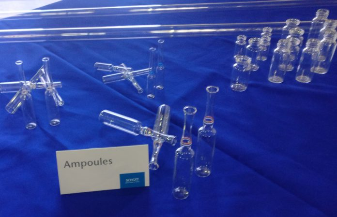 Glass tubing is used to manufacture ampules
