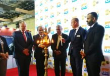 NC Saha, director, India Institute of Packaging inaugurating the trade fairs