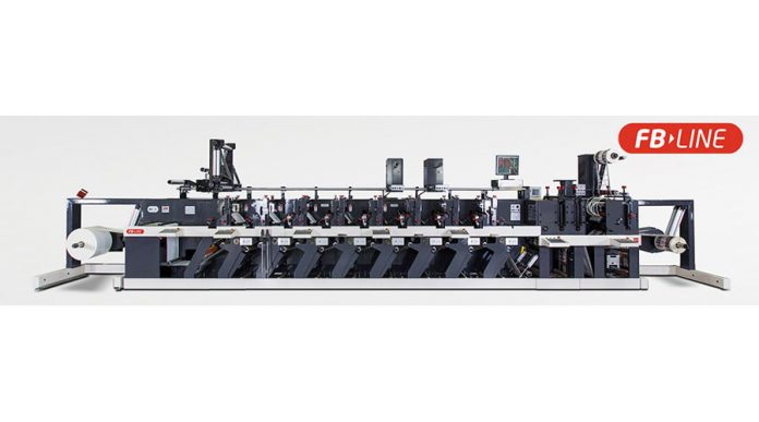 Nilpeter FB-430 label press