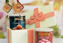 Festive packs by Haldiram