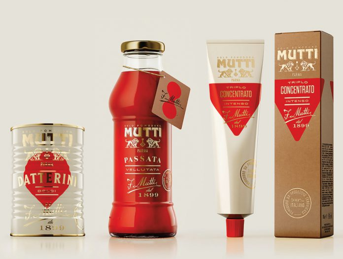 Mutti, the 2018 Best of the Show - Diamond Pentaward winner