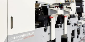 MPS demonstrated EF SYMJET Hybrid at Labelexpo Americas 2018