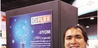 Anantshree Chaturvedi, vice-chairman of Flex Films International at Pack Expo in Chicago. Photo PSA
