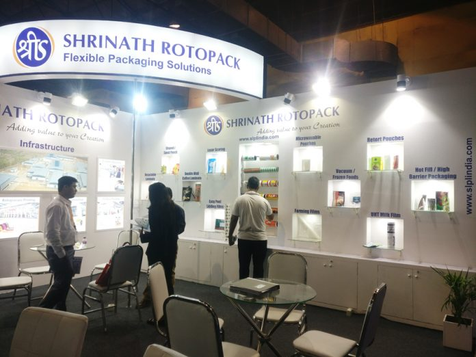 Shrinath Rotopack stand at India Pacprocess