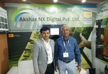 Nikunj Malvania and Kirtibhai Malvania at Labelexpo 2018