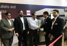 The Colornovo label press was sold to Barcom Industries by Monotech at Labelexpo India 2018 today. At the event, Monotech sold the press to two companies, Wonder Pac India and Barcom Industries.