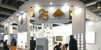 SMI stand at Labelexpo India 2018