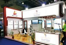 Infinity Solutions stand at IndiaCorr Expo. Photo PSA