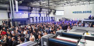 Almost 400 customers from Greater China and the Asia-Pacific region attended Heidelberg Commercial Day at the Heidelberg Print Media Center in Shanghai.