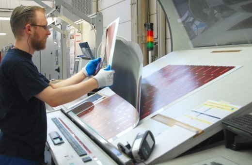 The printing of tinplate sheets requires special experience due to the material properties and the special appearance.