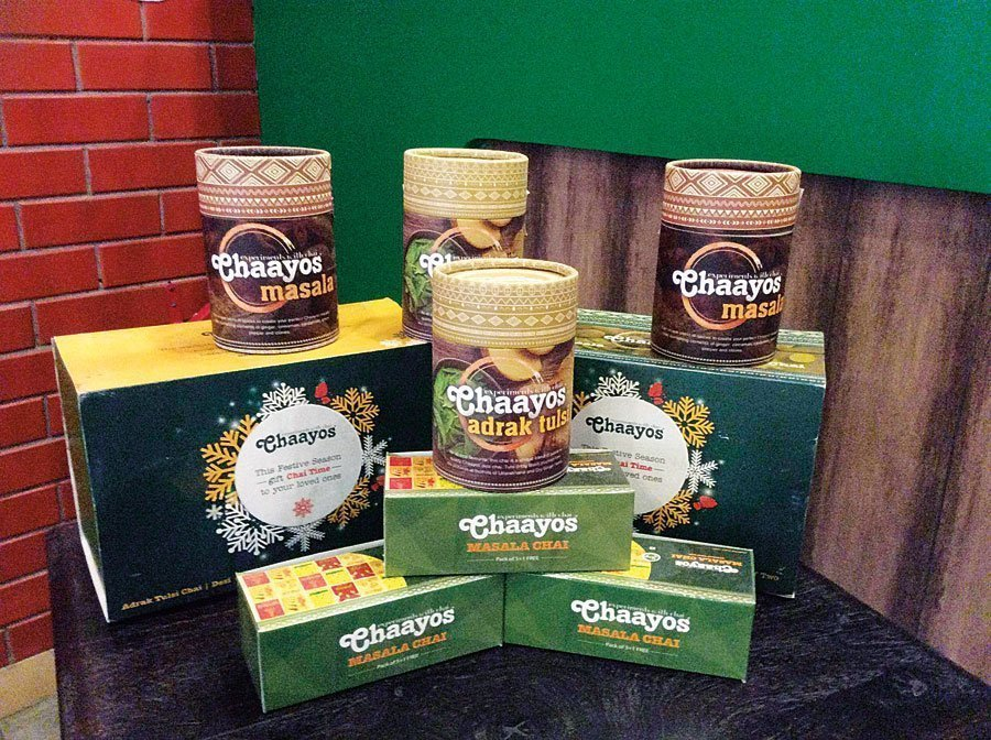Chaayos tea packaging