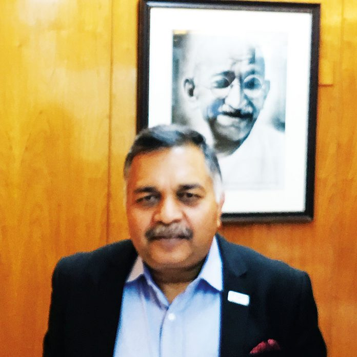 Pawan Agarwal, CEO of FSSAI at FSSAI headquarters in New Delhi