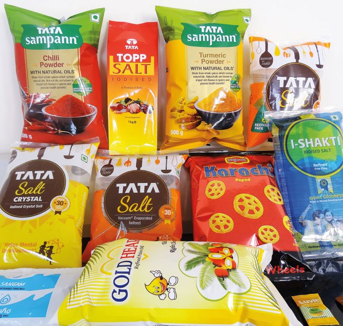 Flexible packaging produced for leading brand owners by Vijayneha Polymers. Photo: Vijayneha