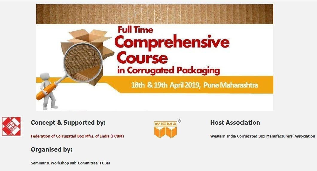 FCBM organizes comprehensive course on corrugated packaging in Pune