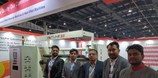 Naph Graphics is participating in Indiaplast 2019 in Greater Noida to exhibit its slitter-rewinder, Slitline 35