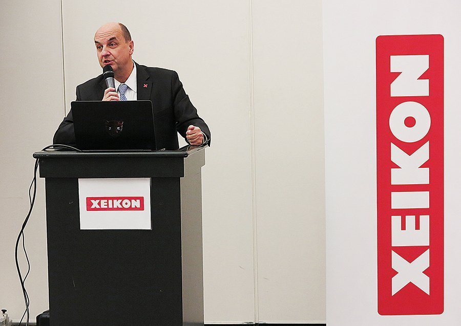 Xeikon CEO Benoit Chatelard. Photo PSA