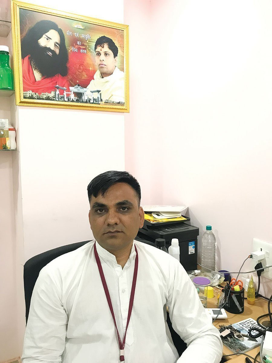 Anil Choubey is the deputy general manager at Patanjali Ayurved headquartered in Haridwar