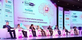 A panel discussion in progress during the Confex