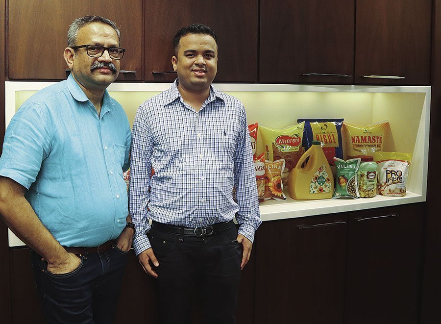 Vinay Nalawade, chief executive officer, Parakh Flexipacks and Harshal Parakh, director Parakh Agro.