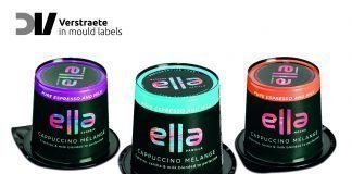Oxygen barrier IML labels keep the flavors and aromas of Ella Cappuccino intact