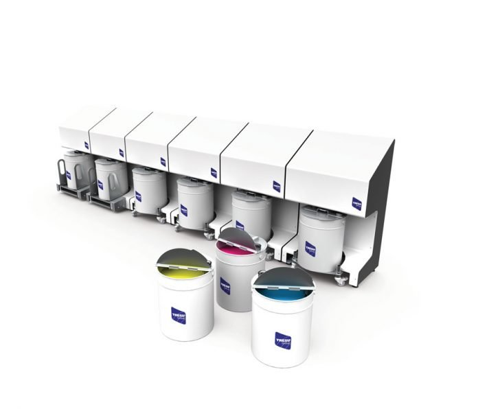 Tresu F10 iCon ink supply system