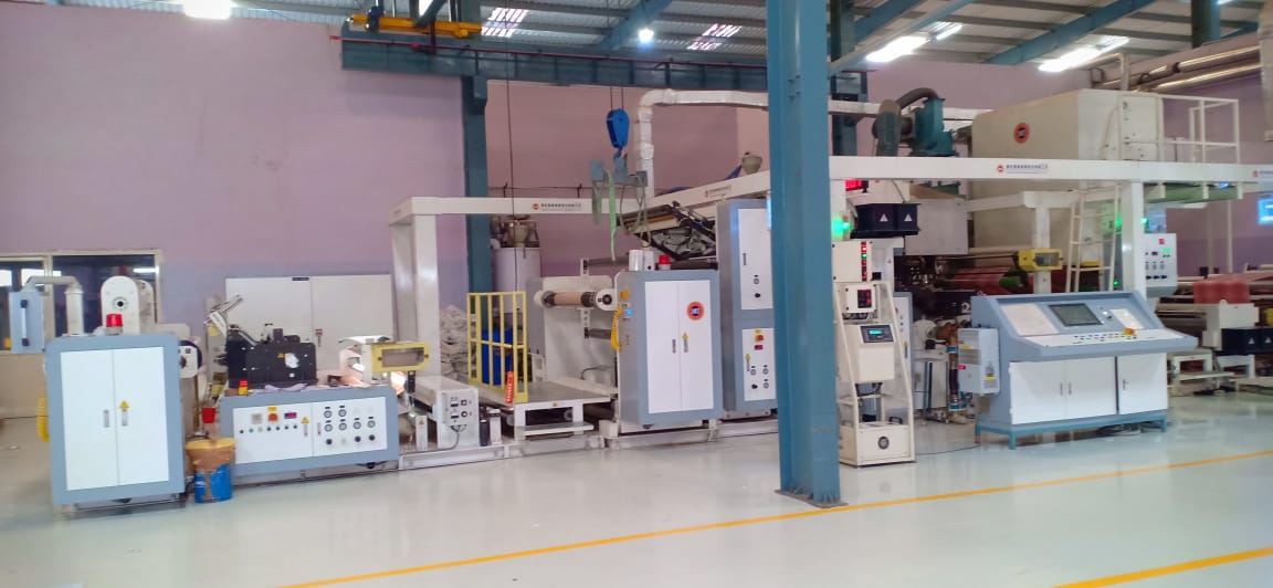 Co-extrusion laminator from Fong Kee International Machinery. Photo PSA