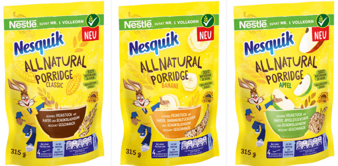 Nestl 233 Launches Porridge With 100 Natural Ingredients