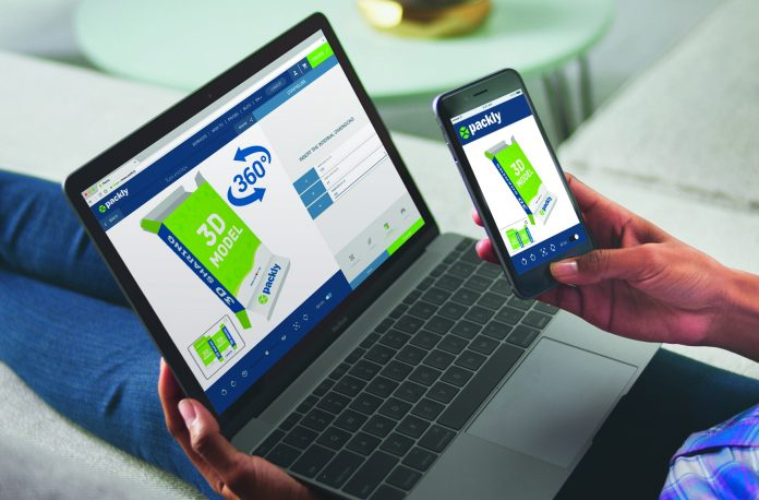 Packly can be accessed on a computer as well as a mobile phone