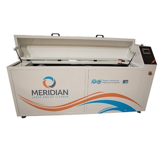 Meridian laser anilox cleaner