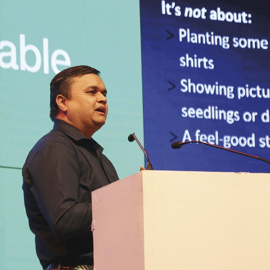Parag Bagade, head of Sustainability & Advantage Services at Avery Dennison. Photo PSA