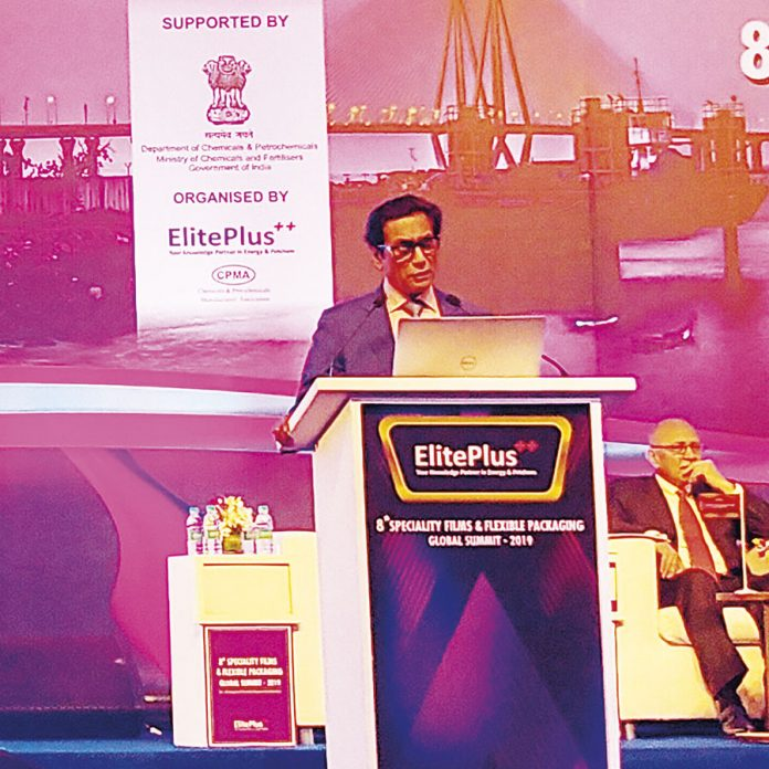 Ashok Chaturvedi, chairman and managing director of Uflex
