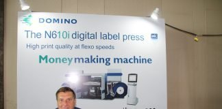 David Ellen, global director, Domino Digital Printing. Photo PSA