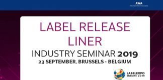 Label release liner seminar at Labelexpo Europe 2019