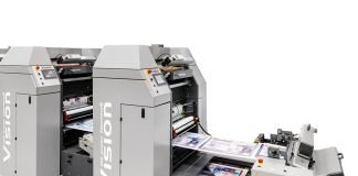 Vision web offset printing press by DG Press