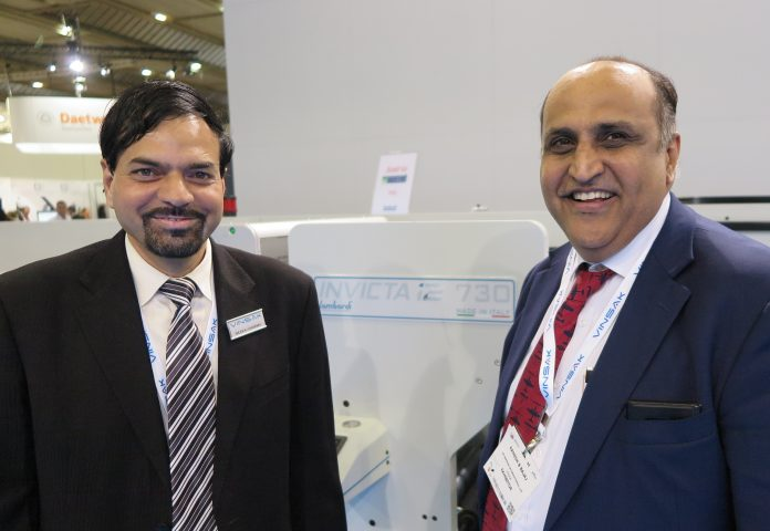 Ranesh Bajaj (right), director, Vinsak