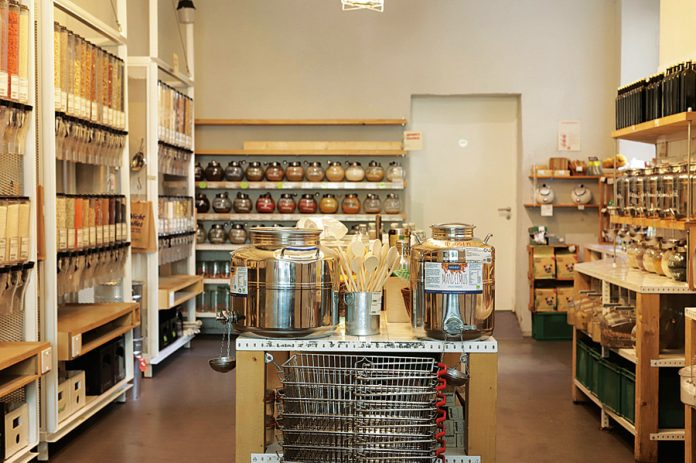 Original Unverpackt at Berlin-Kreuzberg claims to be the world wide first supermarket for a zero-waste lifestyle