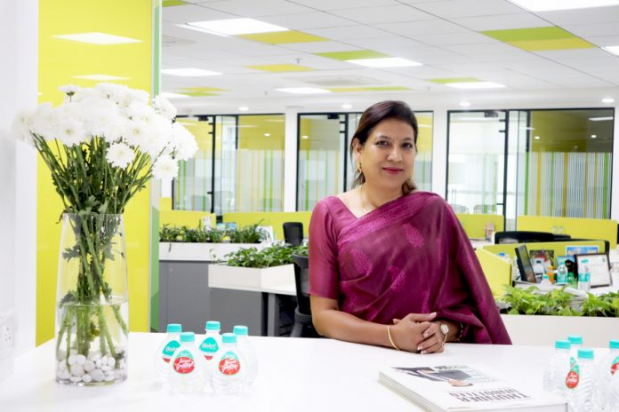 Anjana Ghosh, director-marketing & business development at Bisleri International