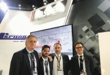 Fosber Asia team at IndiaCorr Expo 2019. Photo PSA