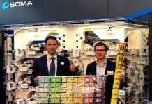 Tea Bag Designs demonstrated at Soma stand at K 2019