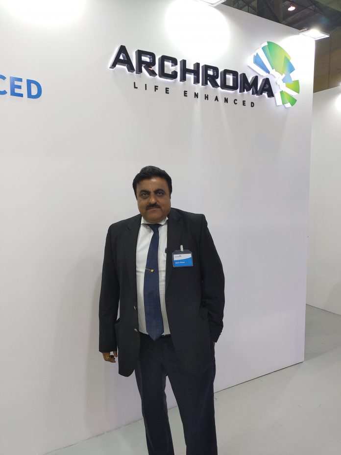 Anjani Prasad, managing director, India, Archroma