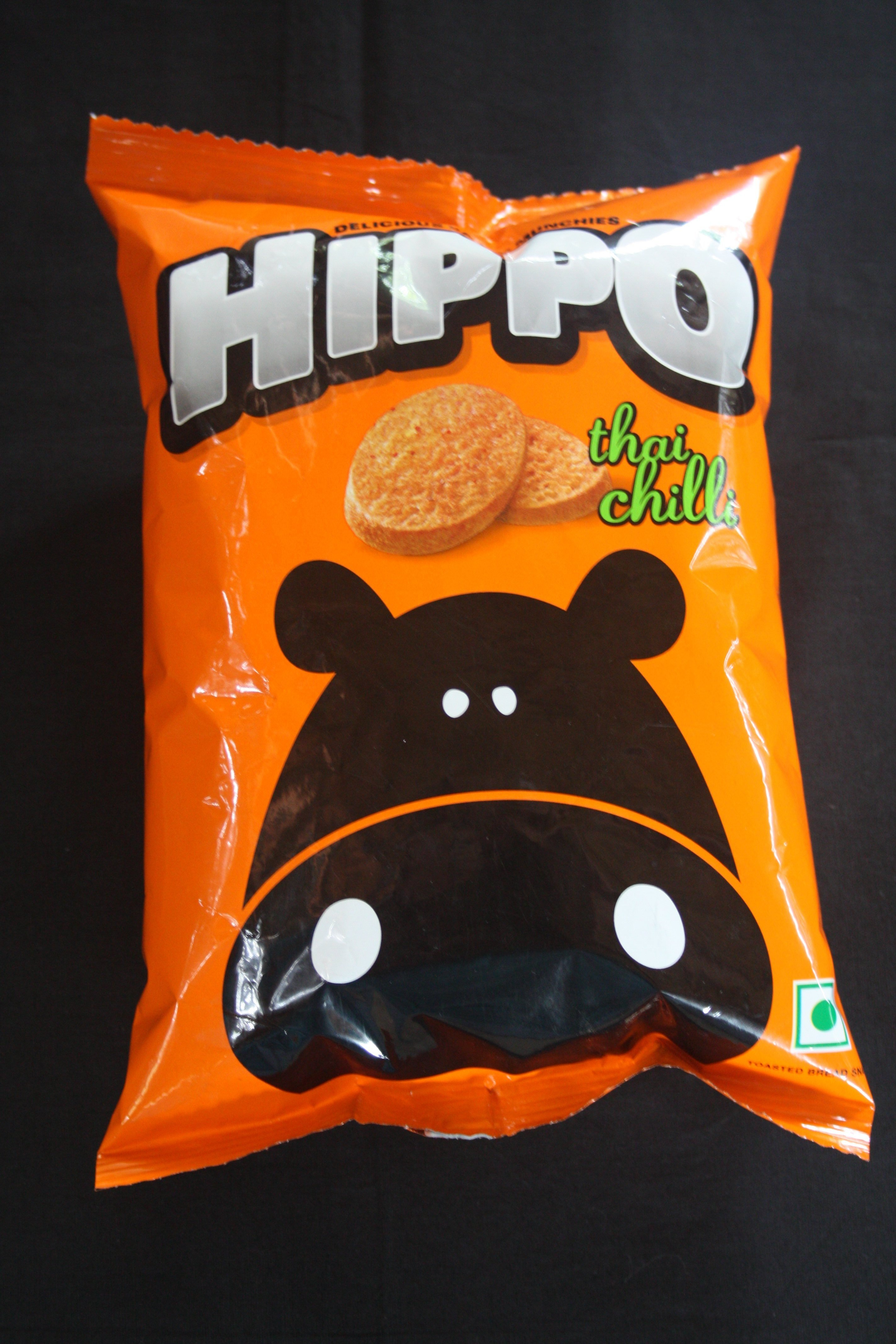 Hippo - food snack pack by Parle Agro has differentiated itself from the crowd by different packaging