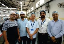 Robus India team at TCPL plant in Haridwar