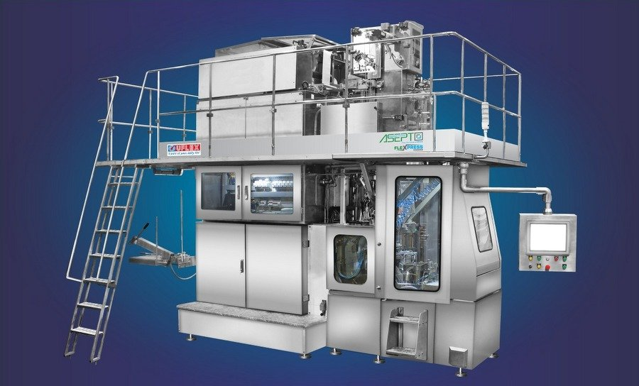 UFlex launched aseptic liquid filling machine Asepto Flexpress 10000 at Gulfood Manufacturing 2019
