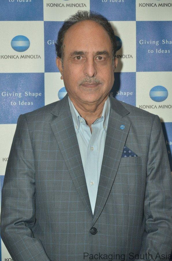 Kuldeep Malhotra, vice president - Sales and Office Product Marketing, Konica Minolta India. Photo PSA