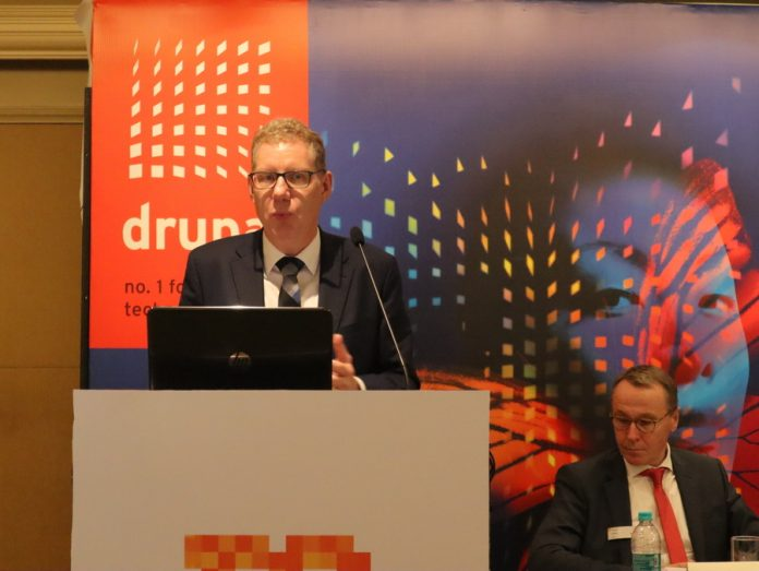 Markus Heering, managing director of Print Promotion and VDMA's Printing and Paper Technology Association. Photo PSA