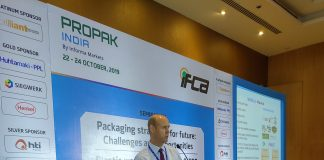 Kelvin Davies of Nextek Technologies speaking at the IFCA Conference. Photo PSA