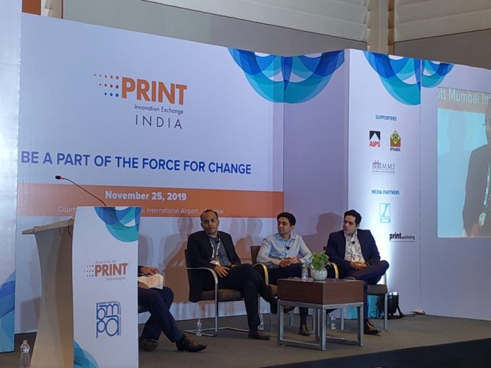 Panel discussion at Print Innovation Exchange India 2019 Conference. Photo PSA